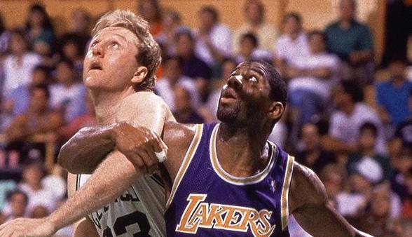 黄绿大战!NBA更新社媒回顾80年代的湖人vs凯尔特人