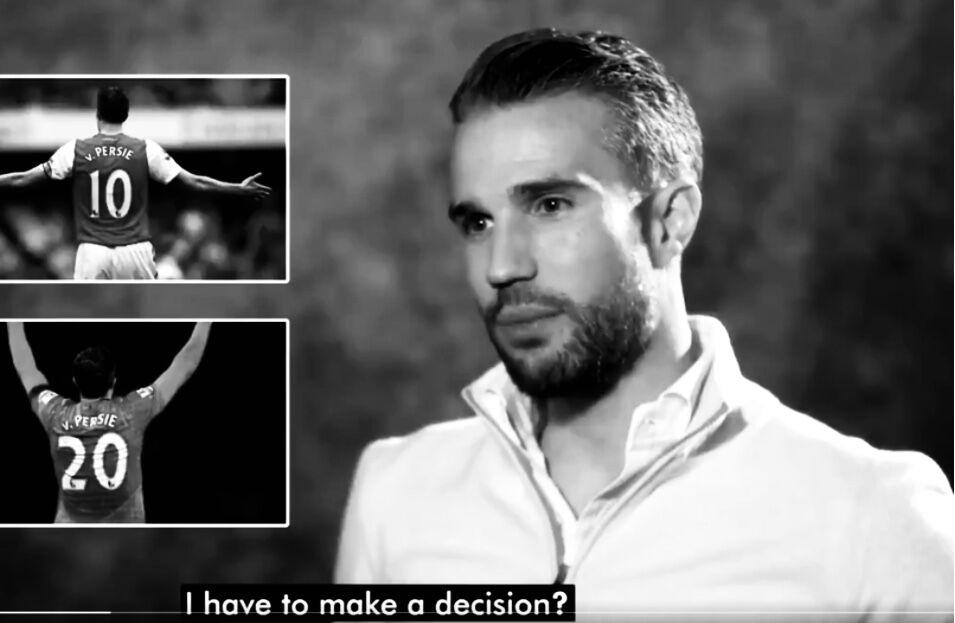 范佩西:曼联的20号球衣比阿森纳的10号球衣更特别