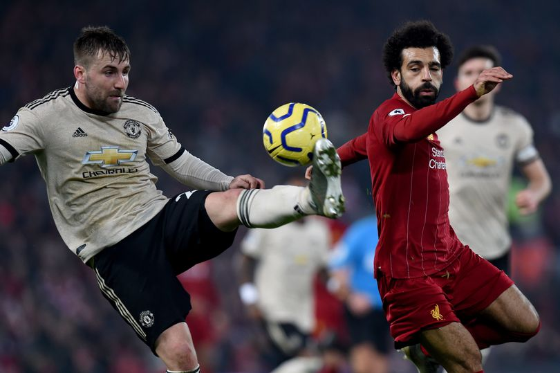 回声报评卢克-肖言论:曼联后卫自然不想看见利物浦夺冠