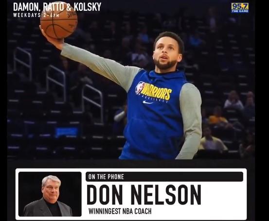 尼尔森谈库里:他刚进入联盟时,我没想过他会成为MVP