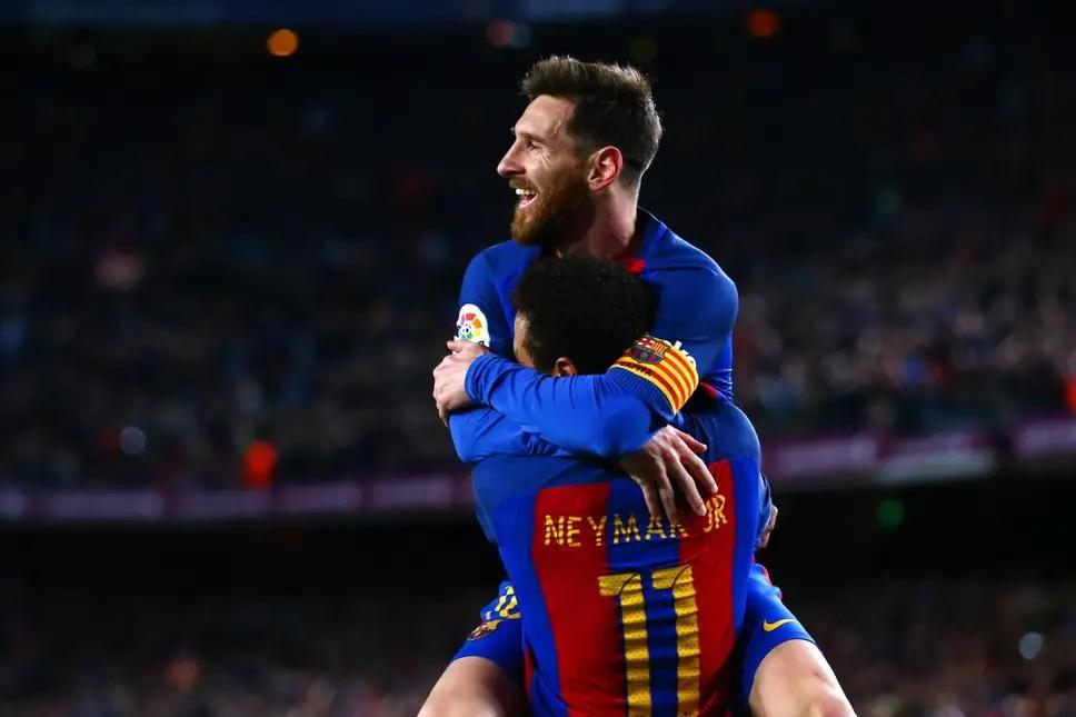 前主帅:内马尔比劳塔罗更强,他仍是接班梅西的最佳人选