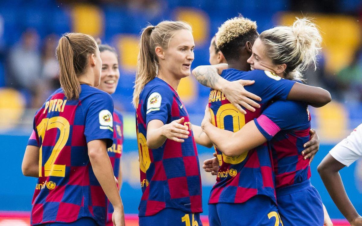 西班牙女足联赛将直接结束,巴萨夺冠,西班牙人无需降级