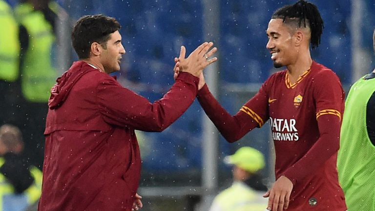 丰塞卡:我会尽全力留下斯莫林,他也想继续为罗马踢球