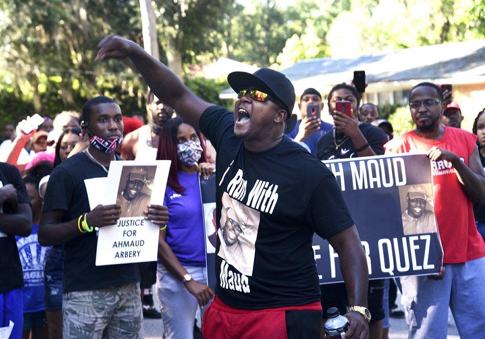 多位NBA球员声援的黑人遭枪杀一案的凶手已被警方逮捕
