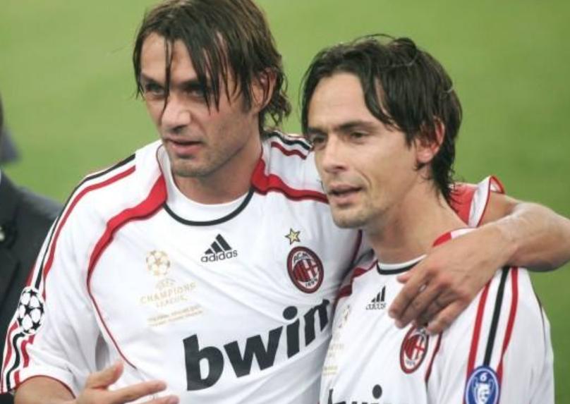 因扎吉和马尔蒂尼开玩笑:我来米兰,就是为了不和你对位