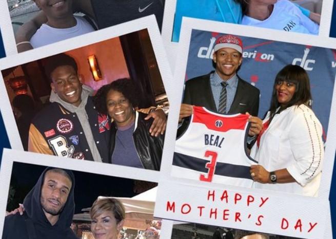 奇才官方推特:致敬所有的母亲!母亲节快乐