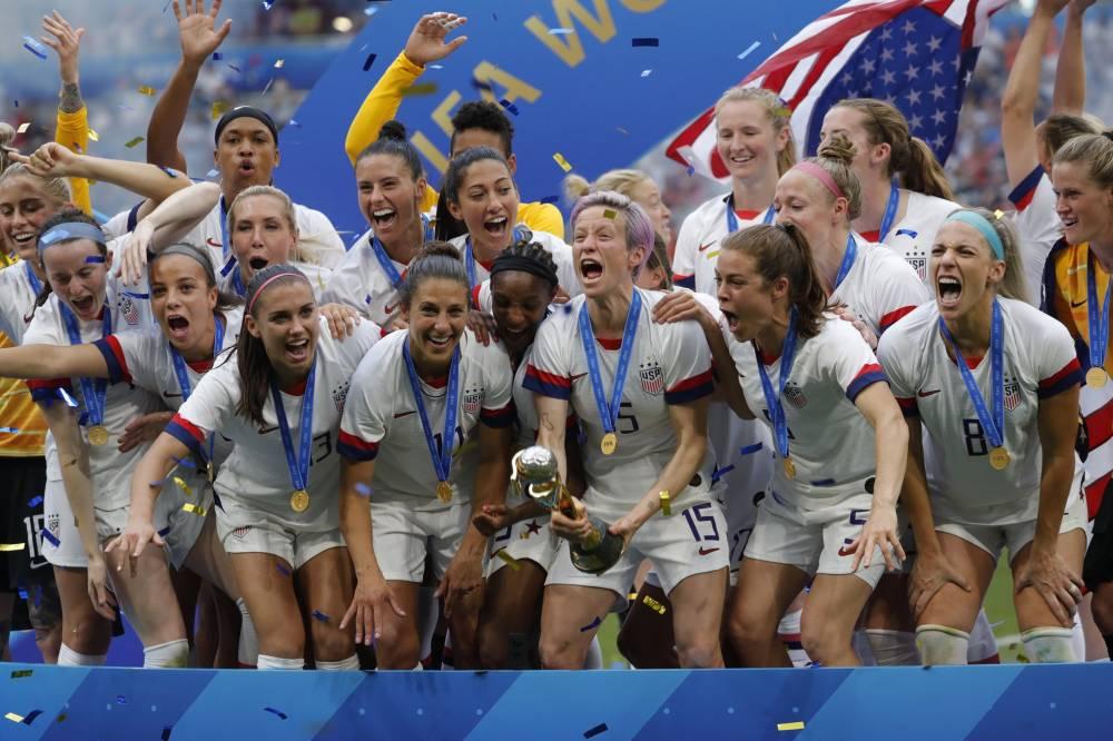 美国女足发言人:女足的比赛场次更多,总薪酬应高于男足