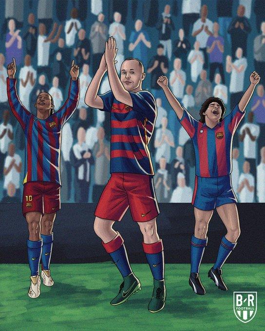 B/R海报:只有3名巴萨球员曾被伯纳乌的球迷起立鼓掌