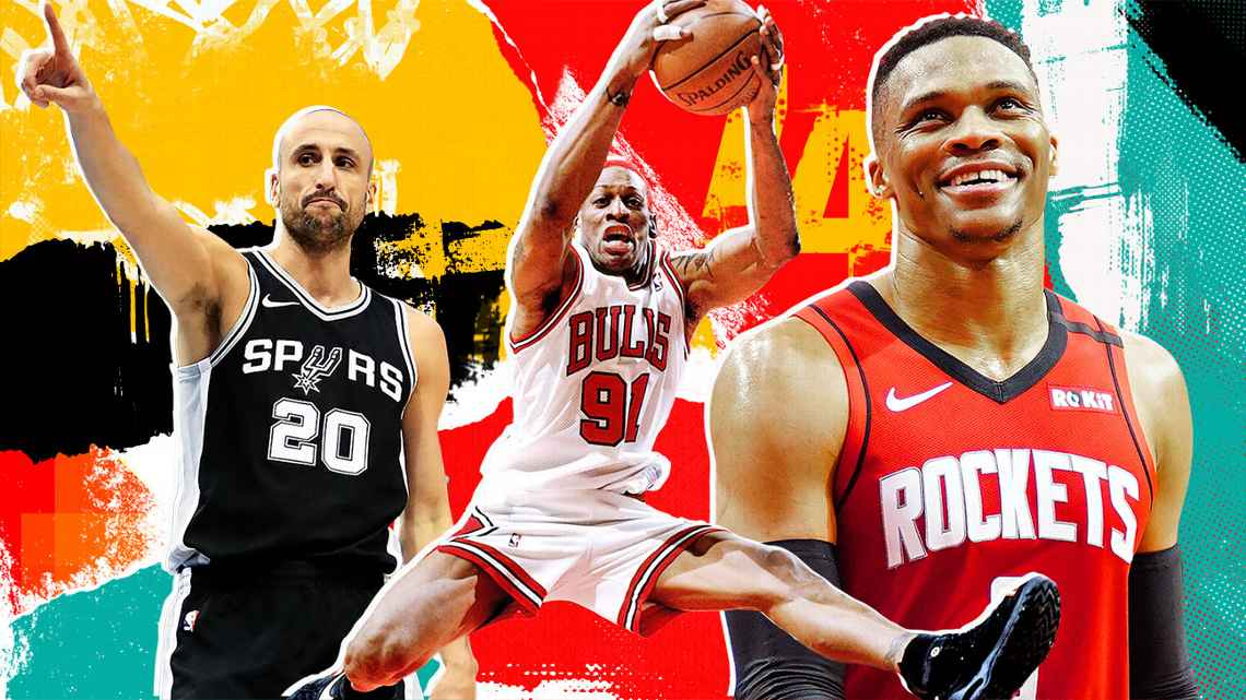 ESPN发布NBA球员历史排名:第60至第41位