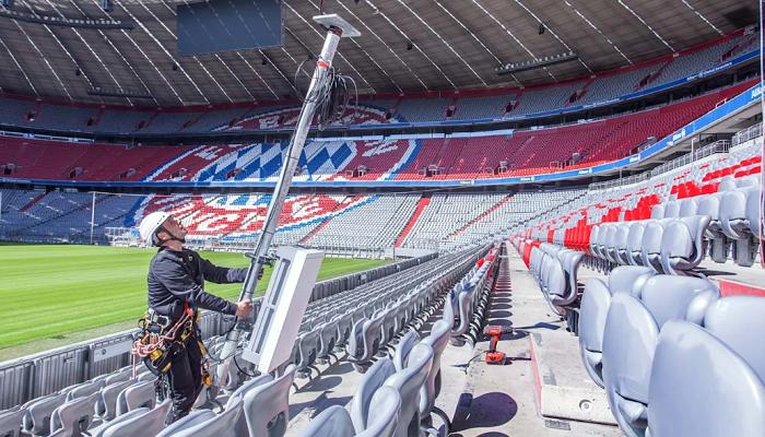 5G时代到来亦博1bet国际官网,拜仁慕尼黑升级安联球场网络设备