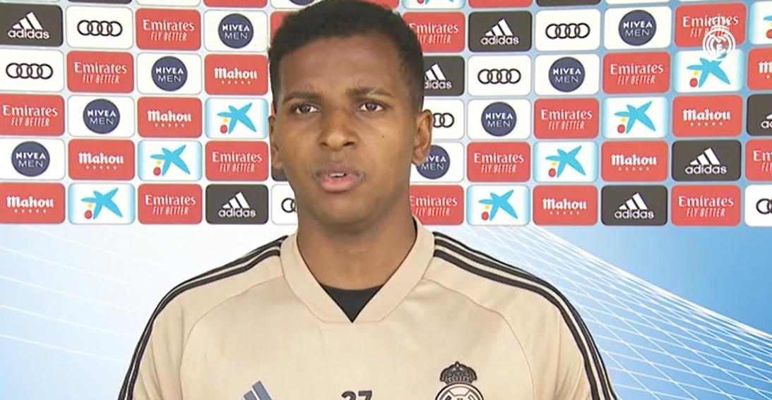 罗德里戈:皇马的目标就是在复赛后拿下西甲冠军