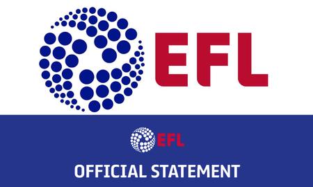 EFL官方:英冠首轮新冠检测效果出炉,一球队中有2人呈阳性
