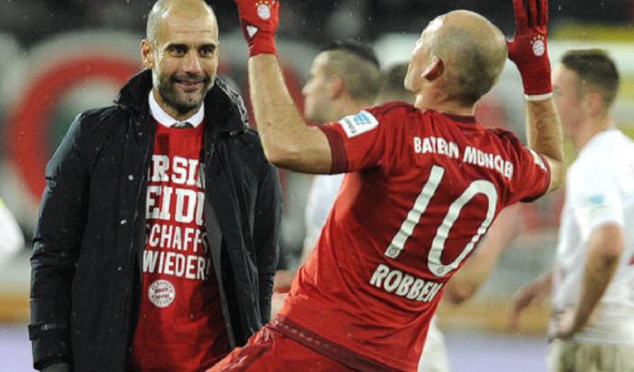 罗本:在拜仁最喜欢的教练是瓜迪奥拉,可惜没有获得欧冠