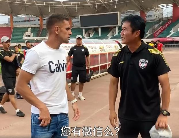 伊沃:陕足新帅金奉吉曾帮助我很多,没他我来不了中国