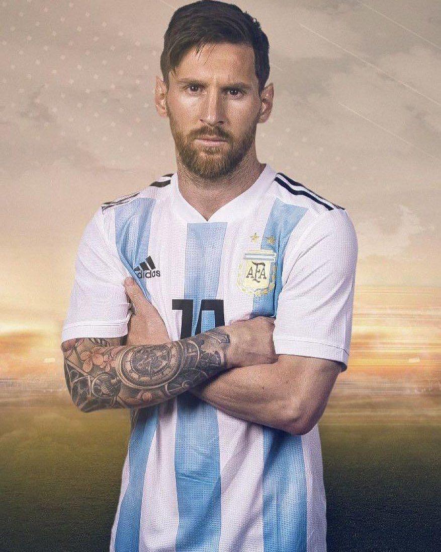 梅西晒照,庆祝阿根廷国庆日