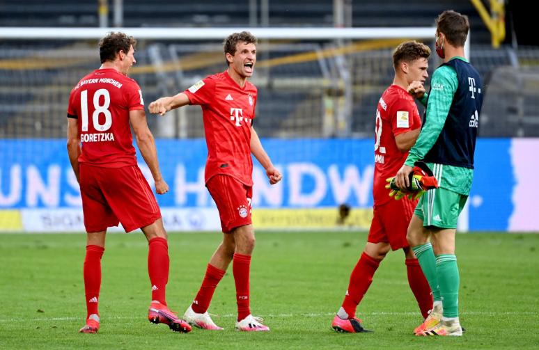 强!拜仁是第一支客场零封法夫尔多特蒙德的球队