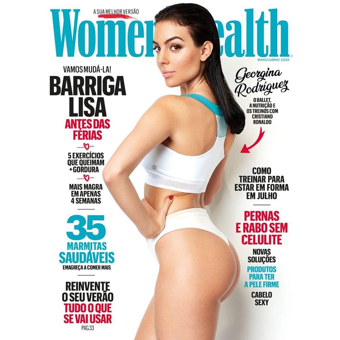 乔治娜登妇女健康杂志封面,称芭蕾舞是其保持身材的秘密