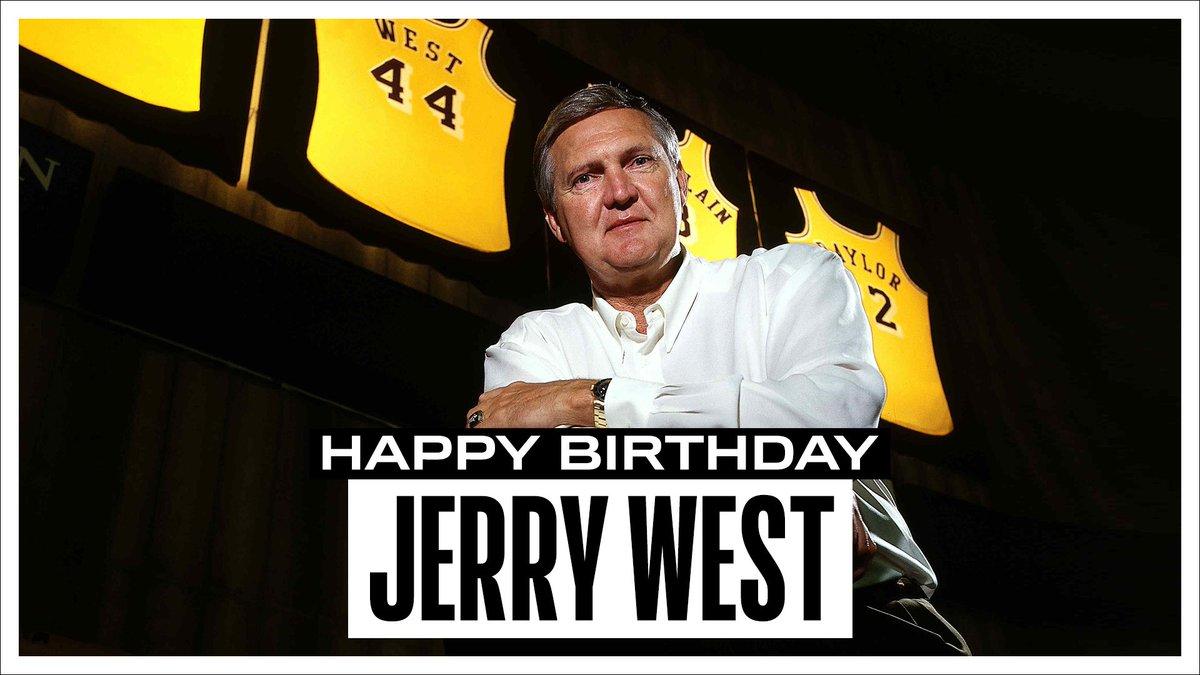 NBA官方推特祝名宿杰里-韦斯特82岁生日快乐