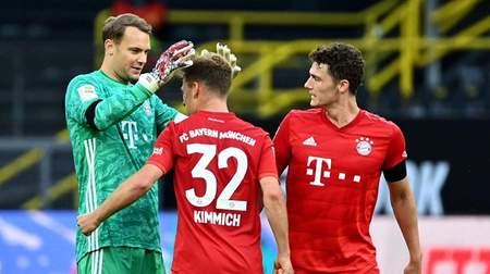 领先多特7分,85%的球迷认为拜仁已经提前锁定冠军