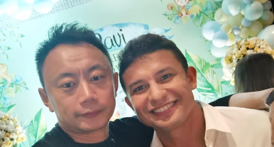示爱艾克森,李帅:我巴西最好的中国朋友