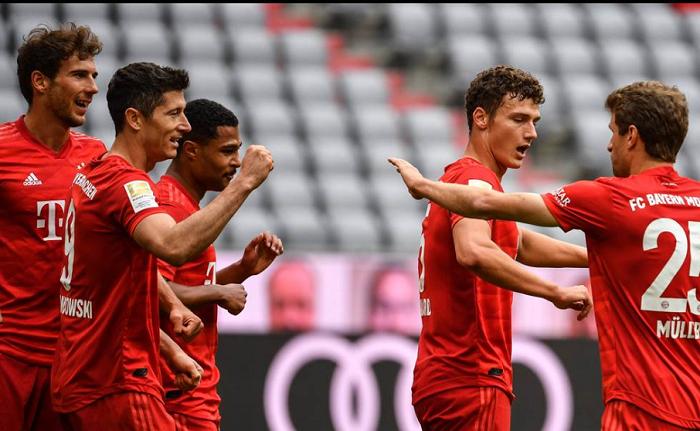 拜仁赛后评分:基米希和莱万多夫斯基满分