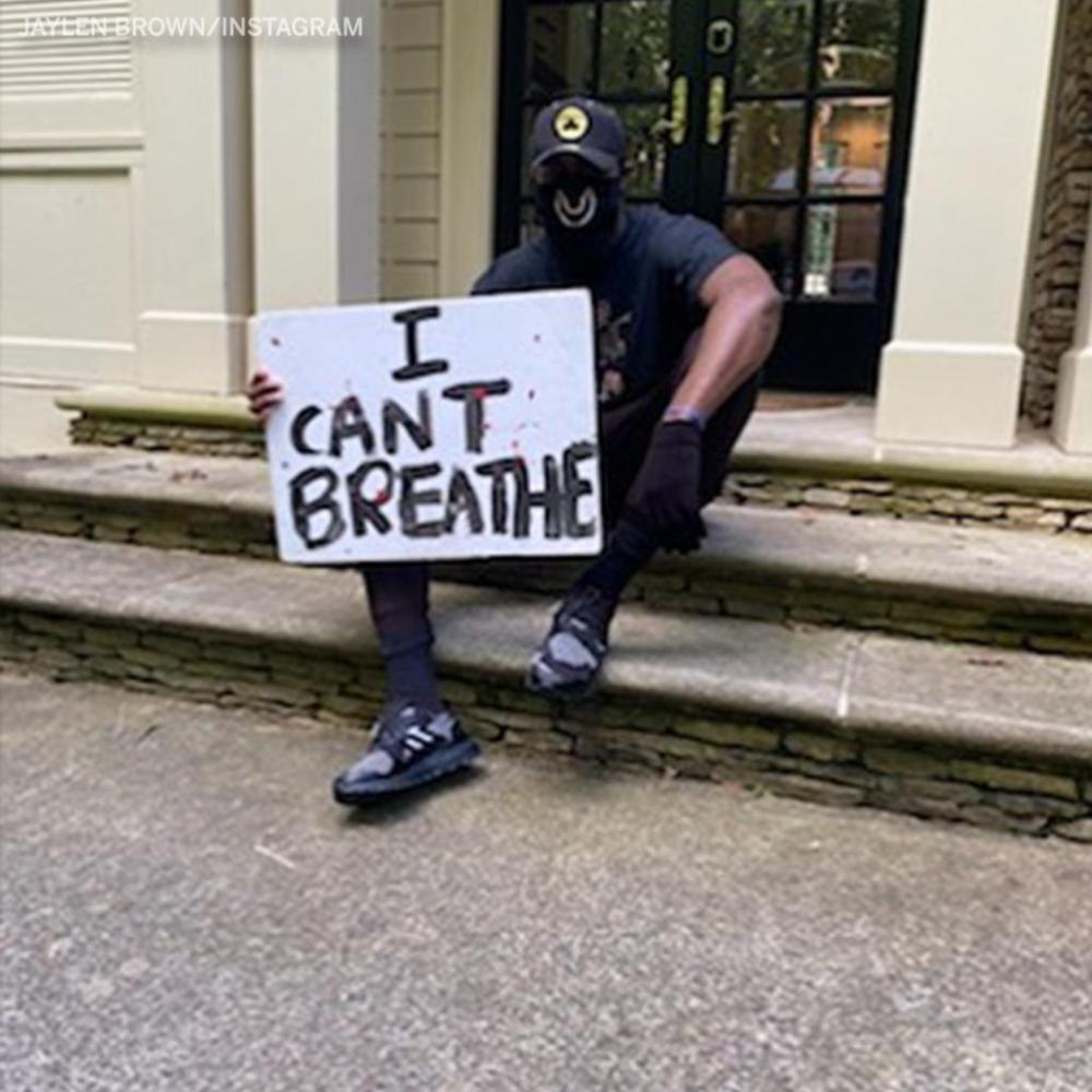 杰伦-布朗:开车15个小时去参加和平抗议,我是一个黑人