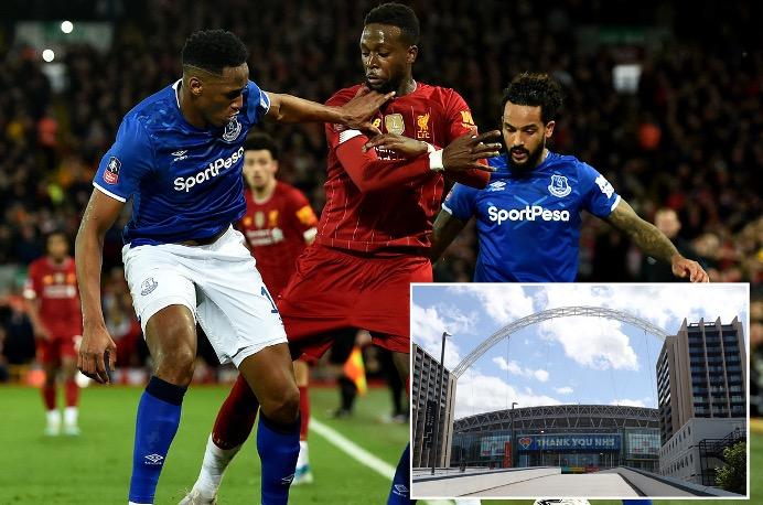 镜报:温布利是利物浦对阵埃弗顿和曼城最有可能的比赛地