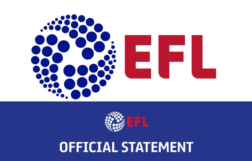 EFL官方:8支英冠球队10人新冠呈阳性,3支英乙球队7人阳性