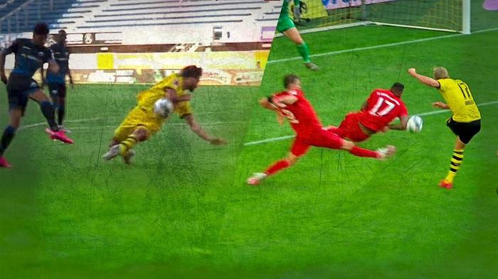 到底怎么判?德媒:博阿滕和詹的手球相似,但判罚不同