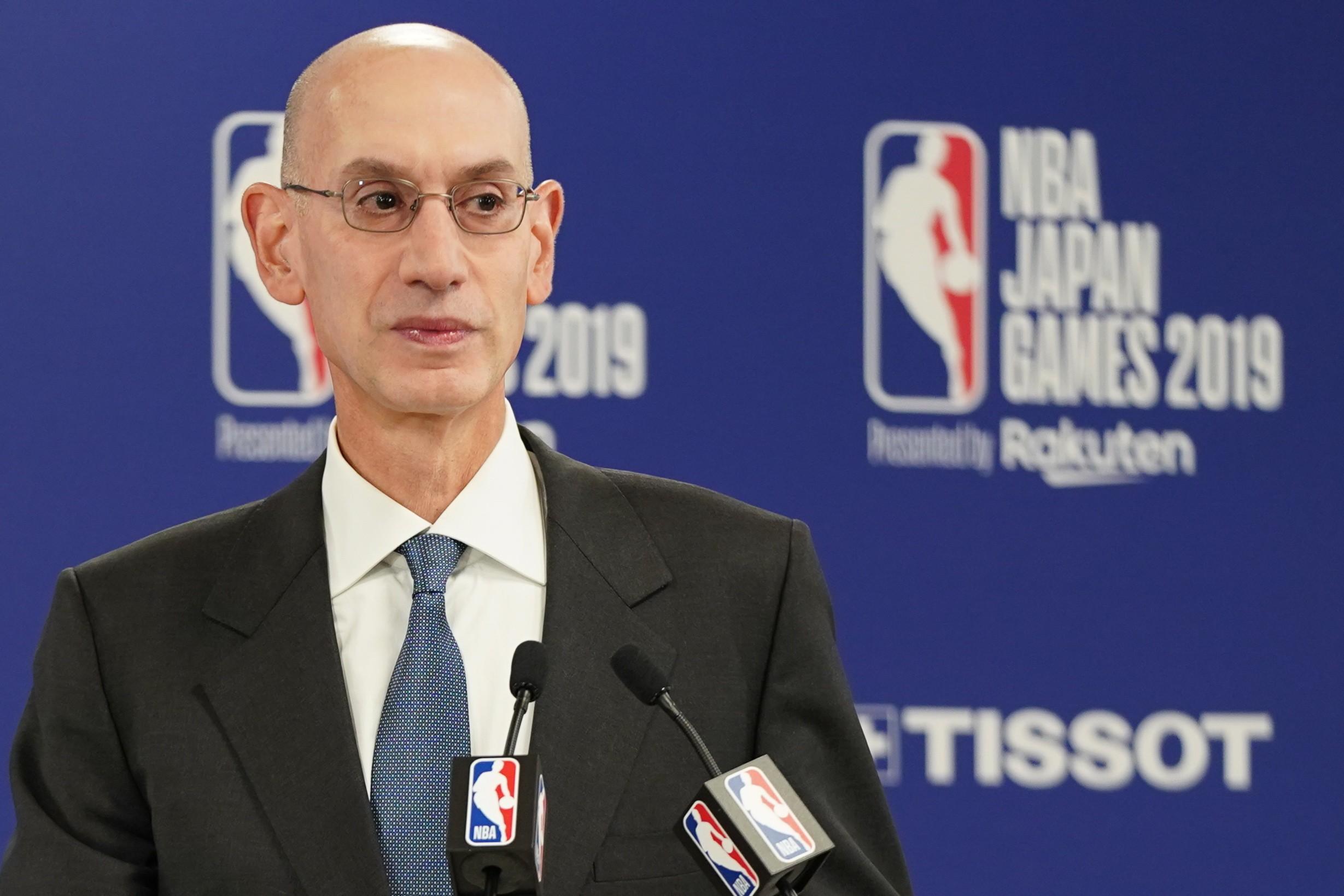 NBA接近于实行22队参加的复赛计划,正在解决细节问题