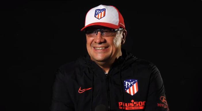官方:马竞助教布尔戈斯赛季末离队,将独立执教