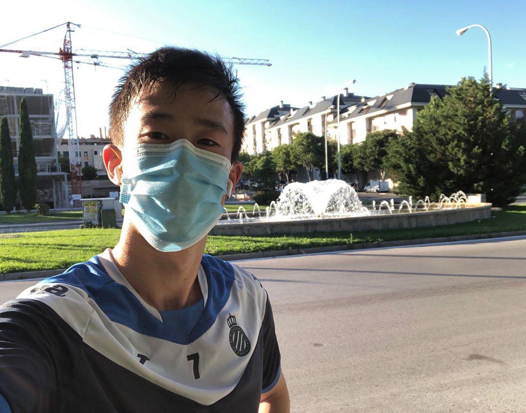 张奥凯自我鼓励:将来我会奔跑在伯纳乌球场对战马德里