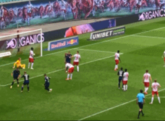GIF:施特罗迪克终场前扳平!莱比锡1-1
