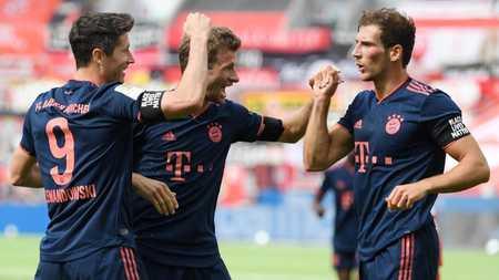 图片报:拜仁有望打破尘封近50年的德甲单赛季进球纪录