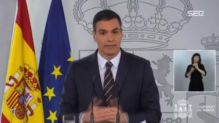 西班牙首相:不会允许某些球场单独允许球迷进场的情况