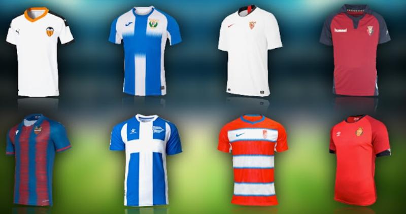 西甲复赛后到6.21日,各队球衣将因国家紧急状态无博彩广告