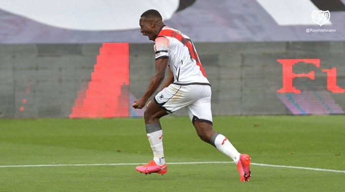 西班牙复赛首战:巴列卡诺1-0胜阿尔瓦塞特,秘鲁后卫世界波