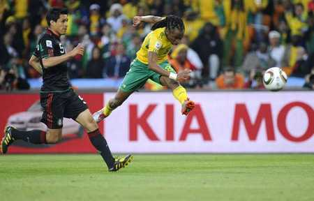 还记得吗?十年前的今天查巴拉拉打进南非世界杯首粒进球