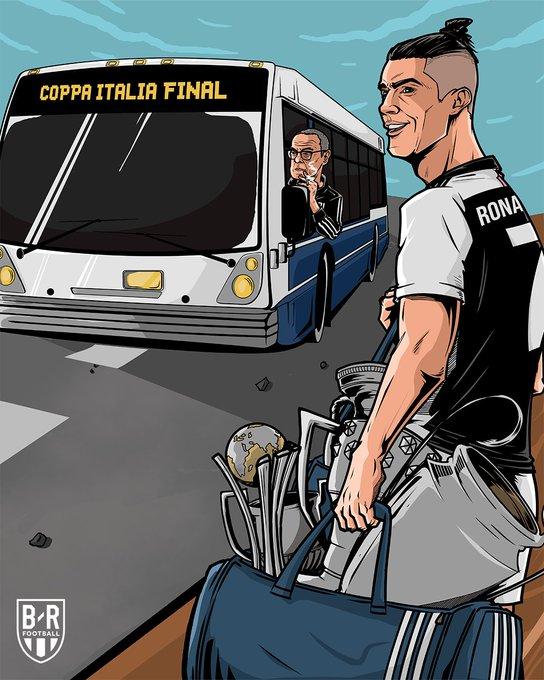 B/R海报:闯入意杯决赛,C罗将向着新的奖杯发起冲击