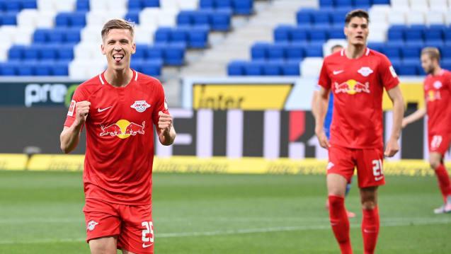 奥尔莫梅开二度萨比策助攻,莱比锡客场2-0霍芬海姆