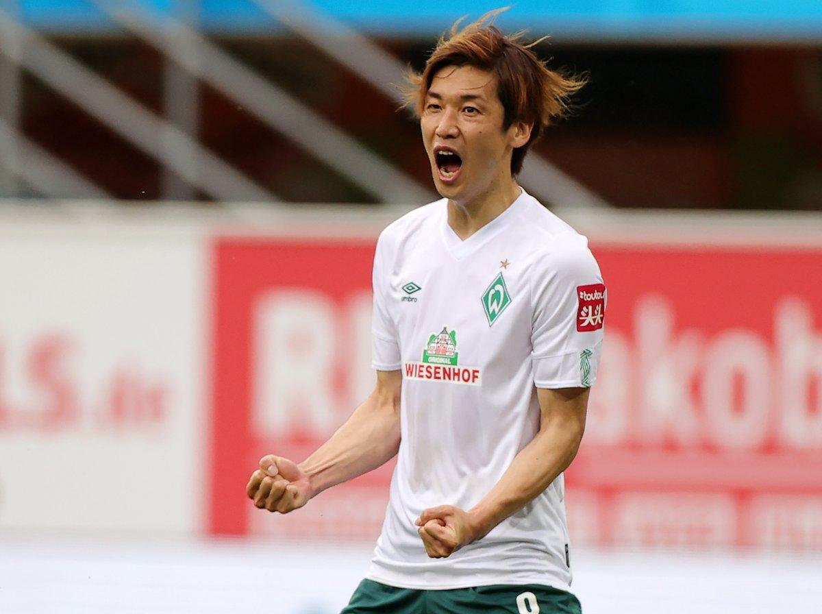 大迫勇也破半年进球荒,生涯第二次单赛季德甲打入5球
