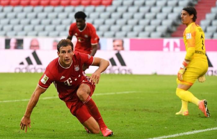 强势B2B!戈雷茨卡当选拜仁全场最佳球员