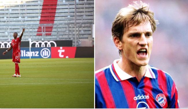 出场264场,阿拉巴并列成为德甲最多出场的奥地利球员