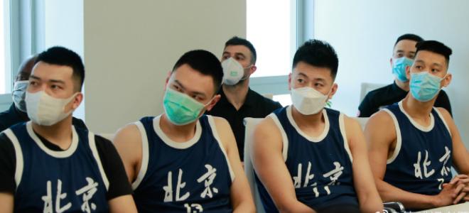 北京男篮举行复赛出征仪式,林书豪:展现最好的自己