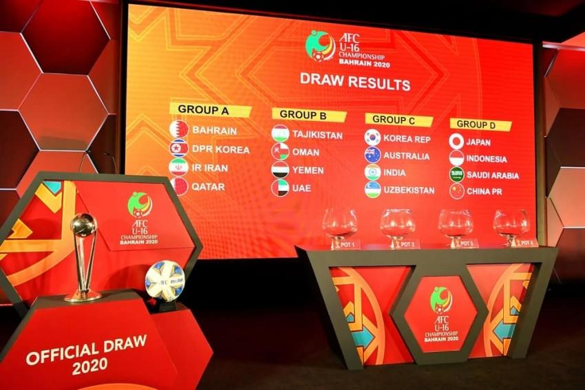 U16亚少赛抽签出炉:中国与日本、印尼、沙特同组
