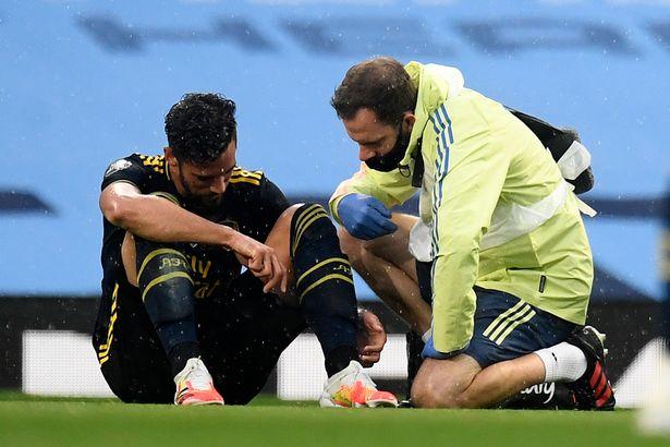 The Athletic:阿森纳中卫马里脚踝伤势主要,赛季报销