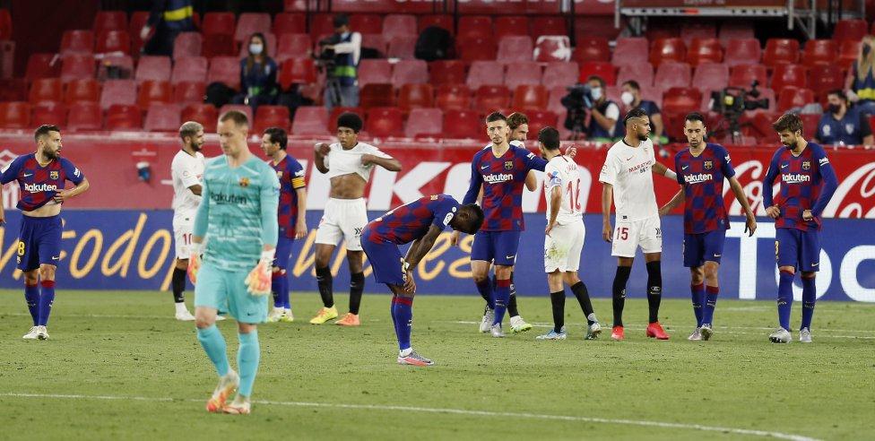 反差之大!巴萨本赛季西甲主场仅丢2分,客场拿分不到一半