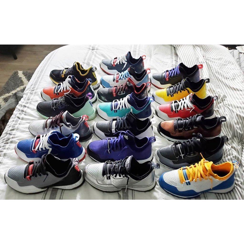利拉德晒死忠粉球鞋收藏:你最喜欢哪一代的利拉德战靴?