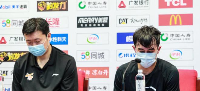 王治郅:新疆防守给球队造成很大压力,郭昊文有伤没来