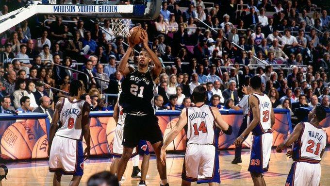 21年前的今天,马刺双塔42分35篮板7封盖带队取赛点